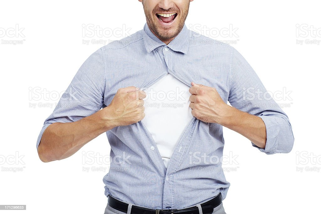 Break out of the corporate routine stock photo