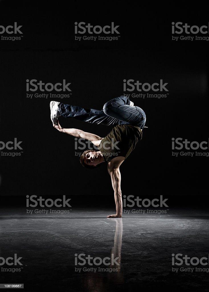 breakdance stock photo