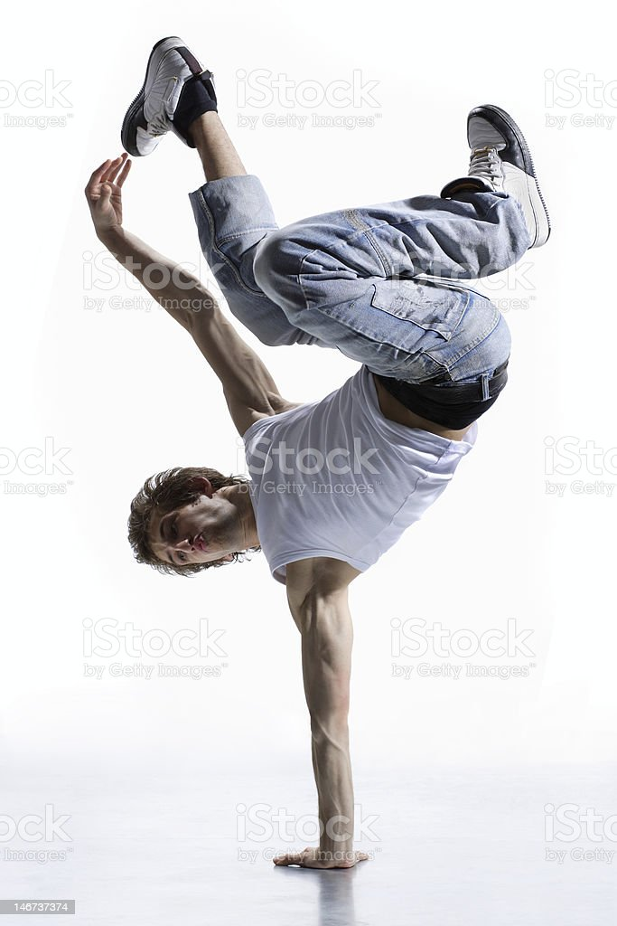 breakdancer royalty-free stock photo