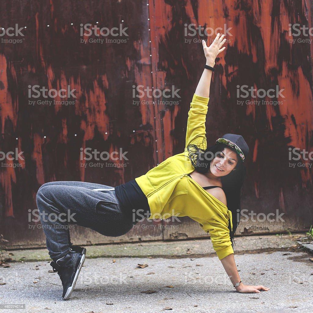 Breakdancing stock photo