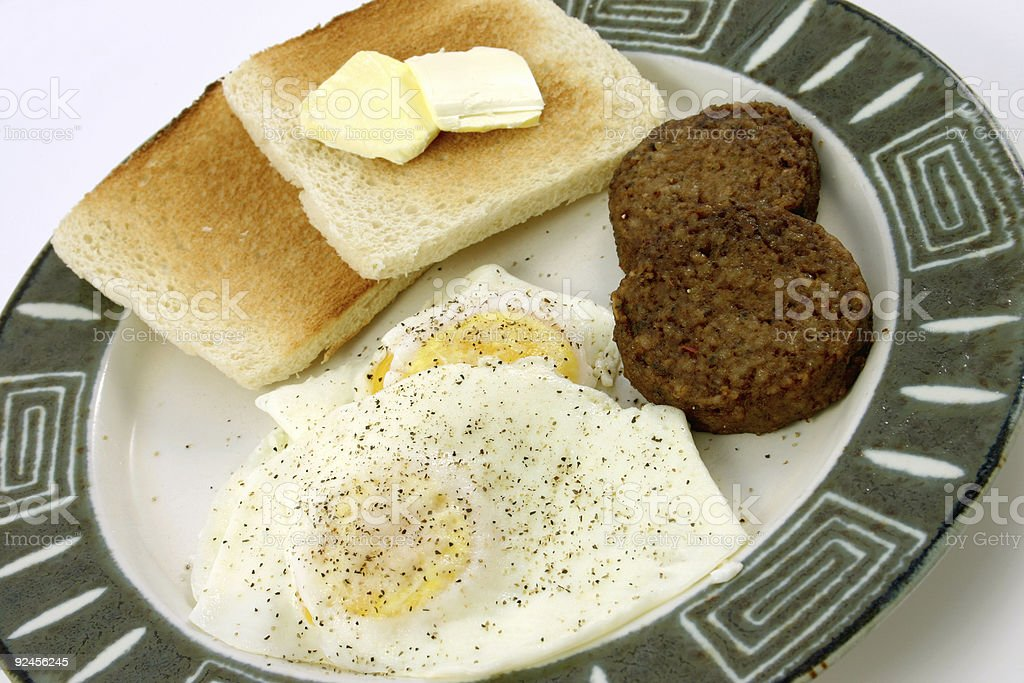 breakfast 1 of 4. royalty-free stock photo