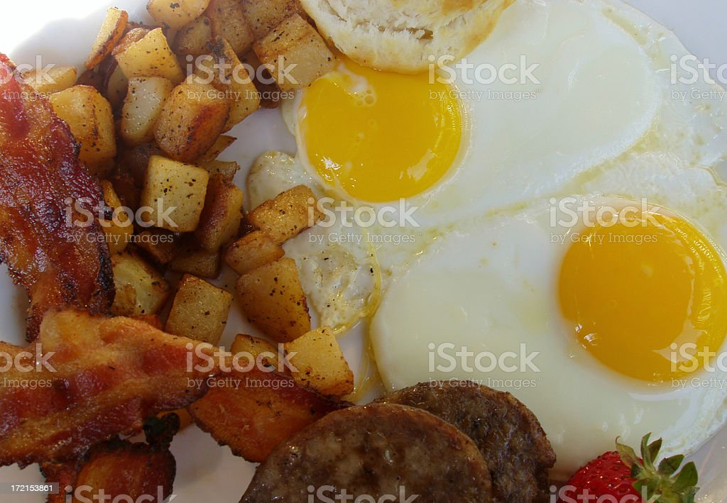 Breakfast at the Diner III stock photo