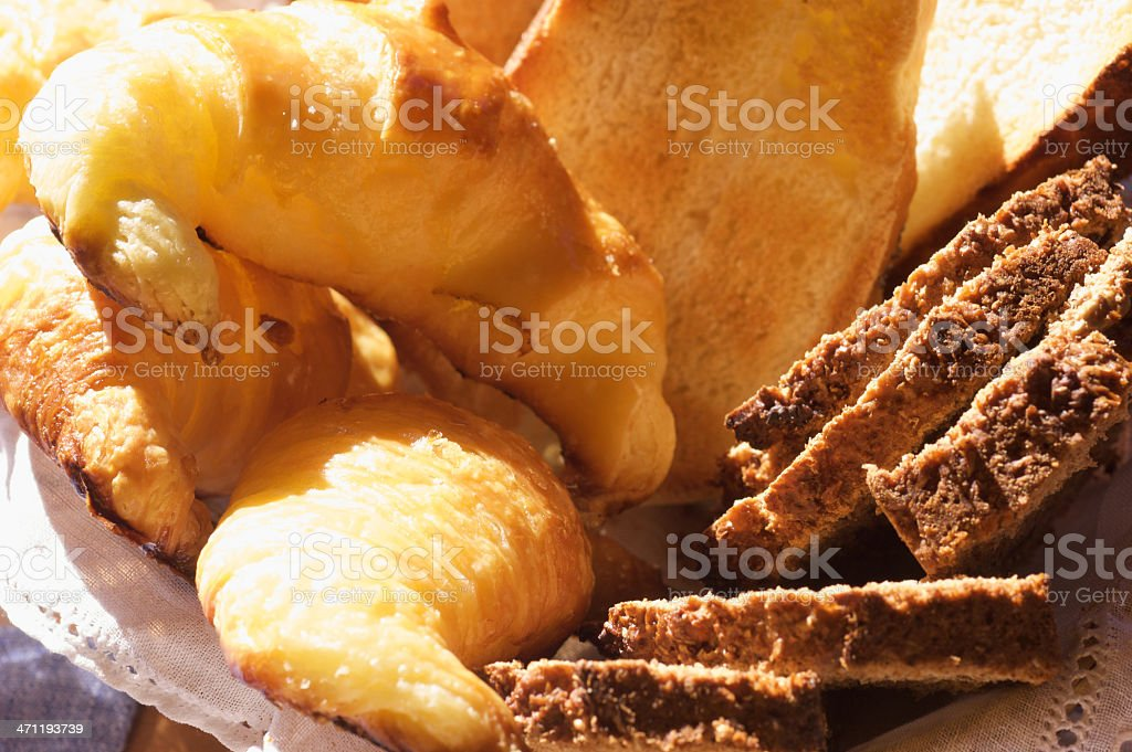 Breakfast bakery stock photo
