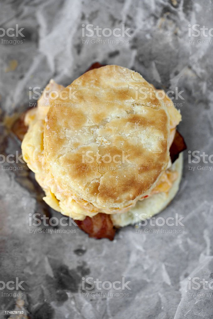 breakfast biscuit royalty-free stock photo