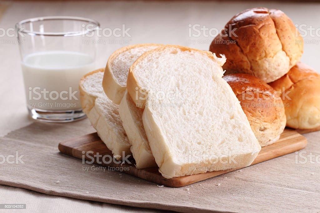 breakfast bread stock photo