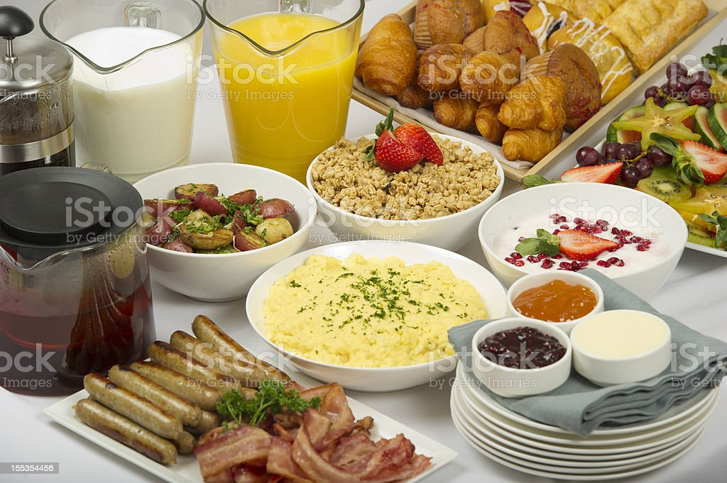 Breakfast Buffet royalty-free stock photo