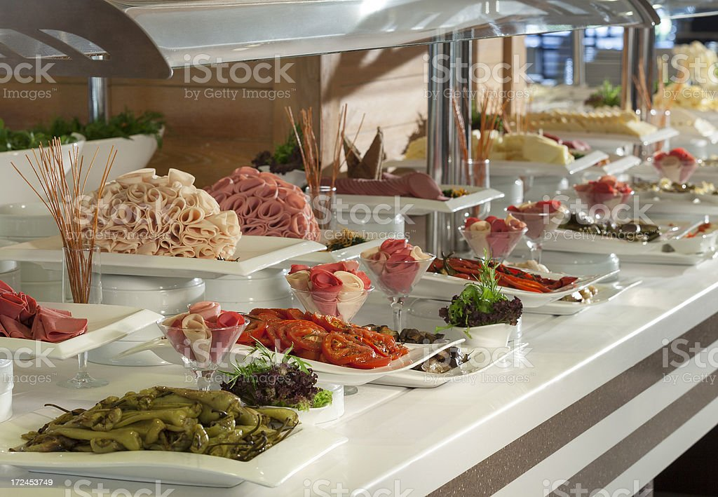 Breakfast Buffet royalty-free stock photo