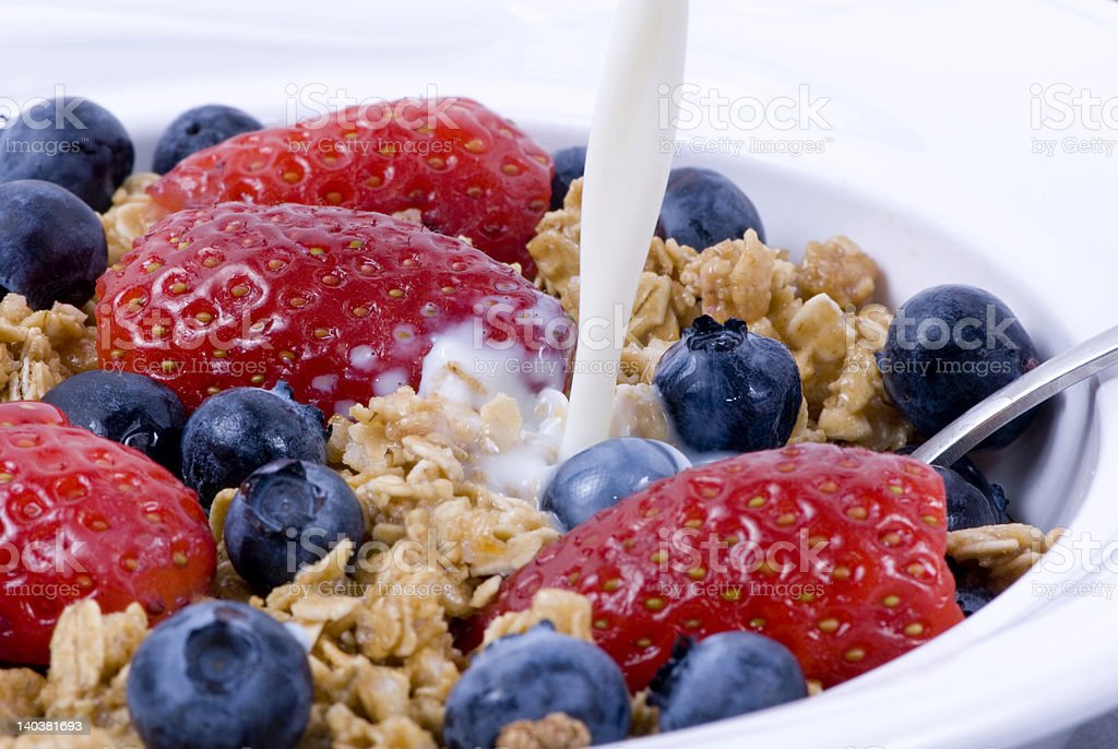 Breakfast Cereal 2 royalty-free stock photo