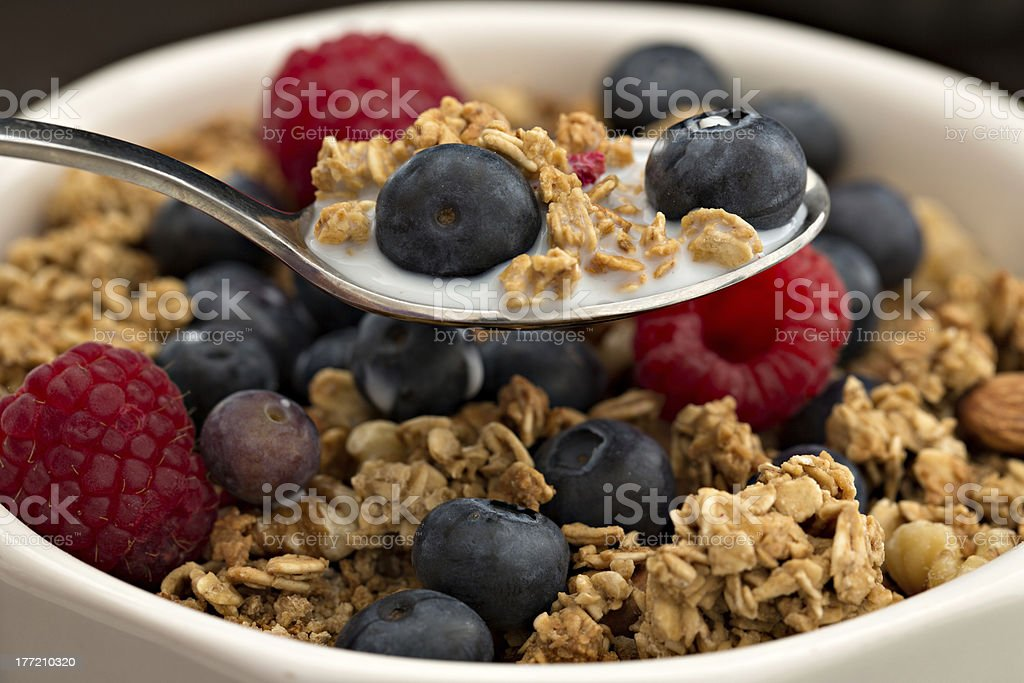 Breakfast Cereal royalty-free stock photo
