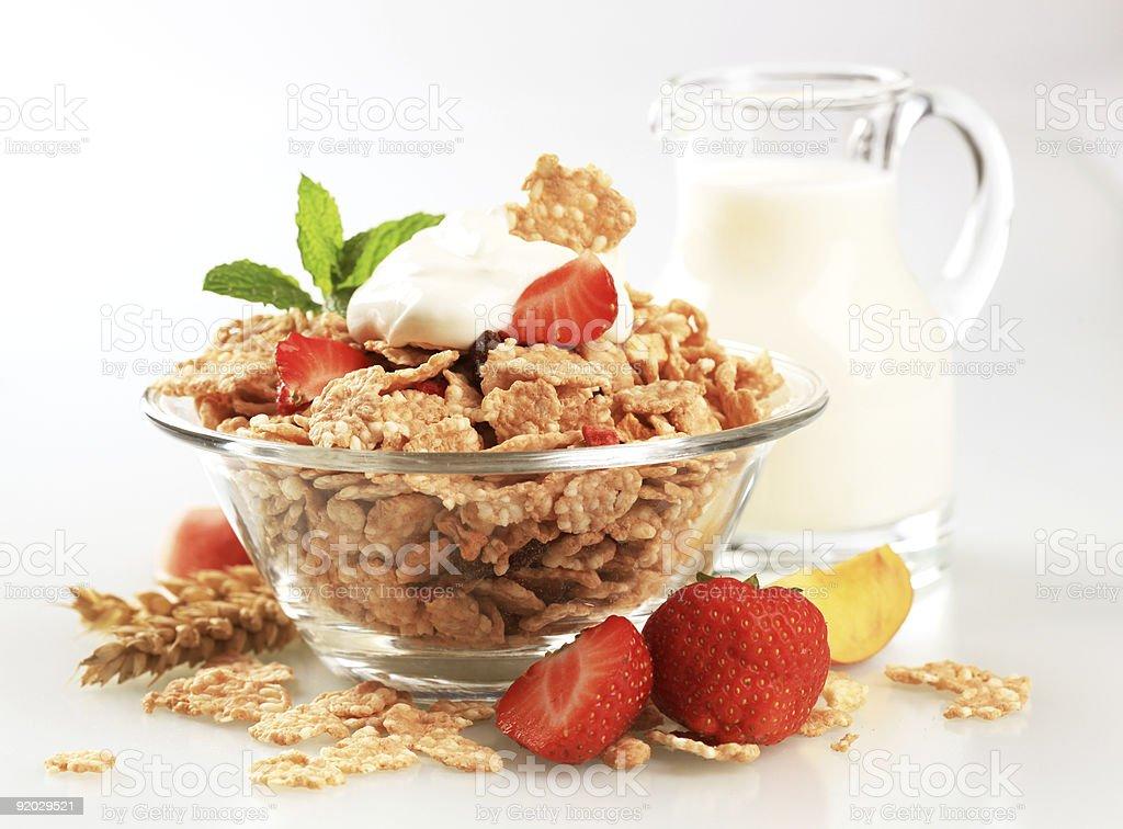 Готовые завтрак Стоковые фото Стоковая фотография