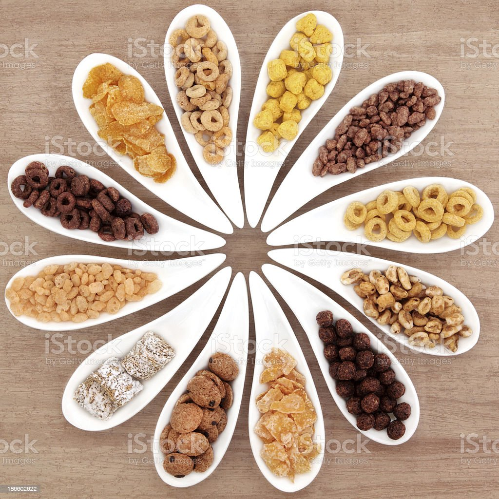 Breakfast Cereals stock photo