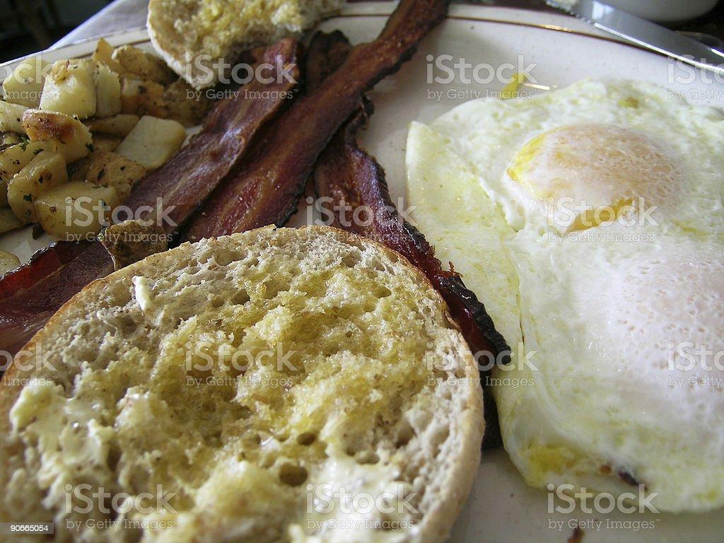 Breakfast Close-Up royalty-free stock photo