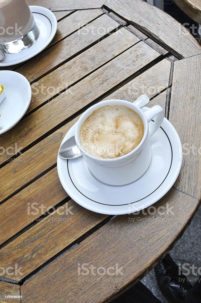 Frühstück: Kaffee. Lizenzfreies stock-foto