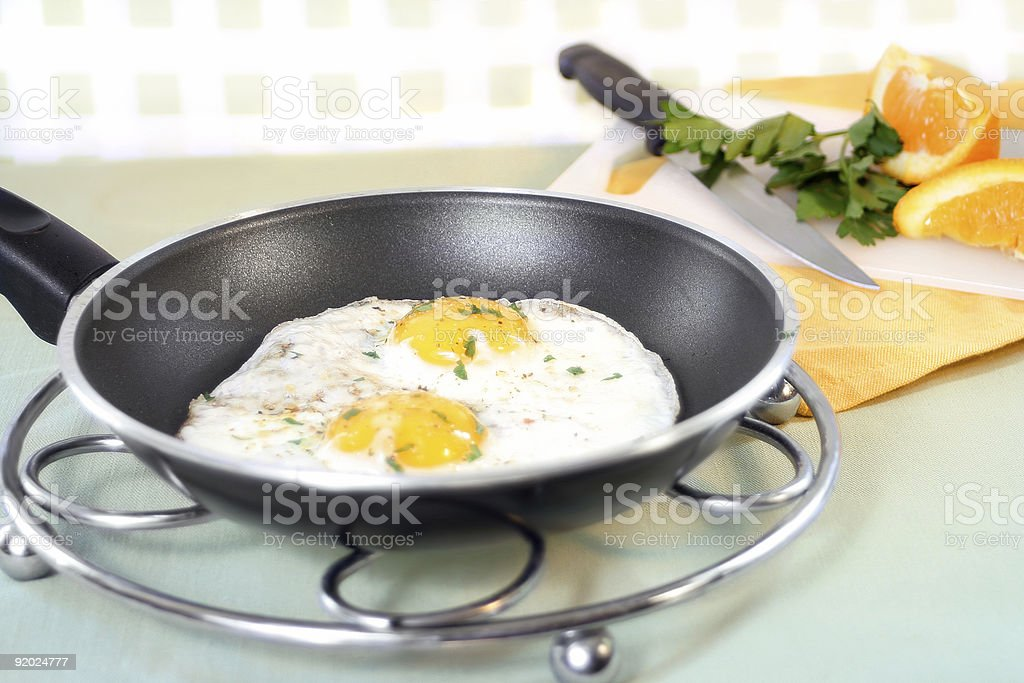 breakfast eggs royalty-free stock photo