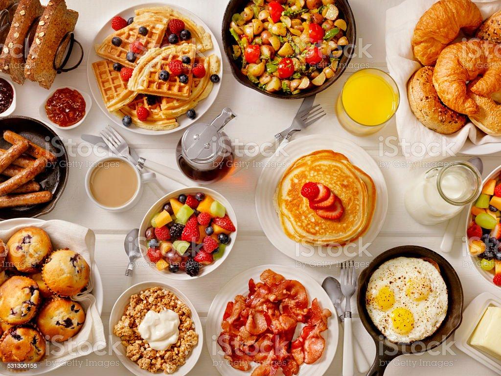 Breakfast Feast stock photo