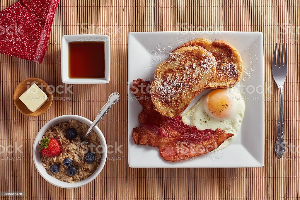 Breakfast Food stock photo