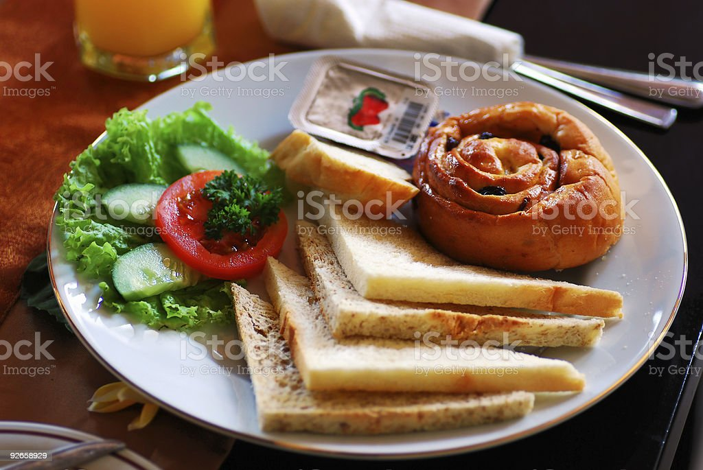 Breakfast food royalty-free stock photo