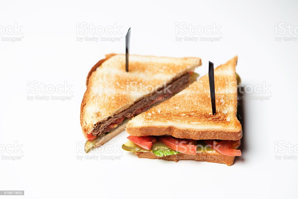 breakfast for hurrying stock photo
