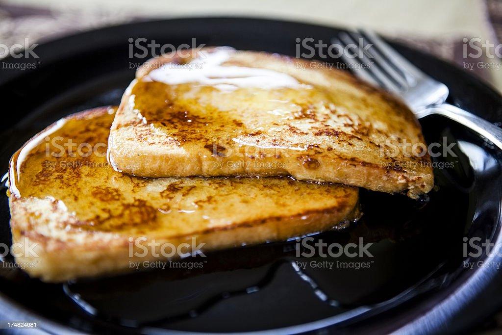 Breakfast: French Toast royalty-free stock photo
