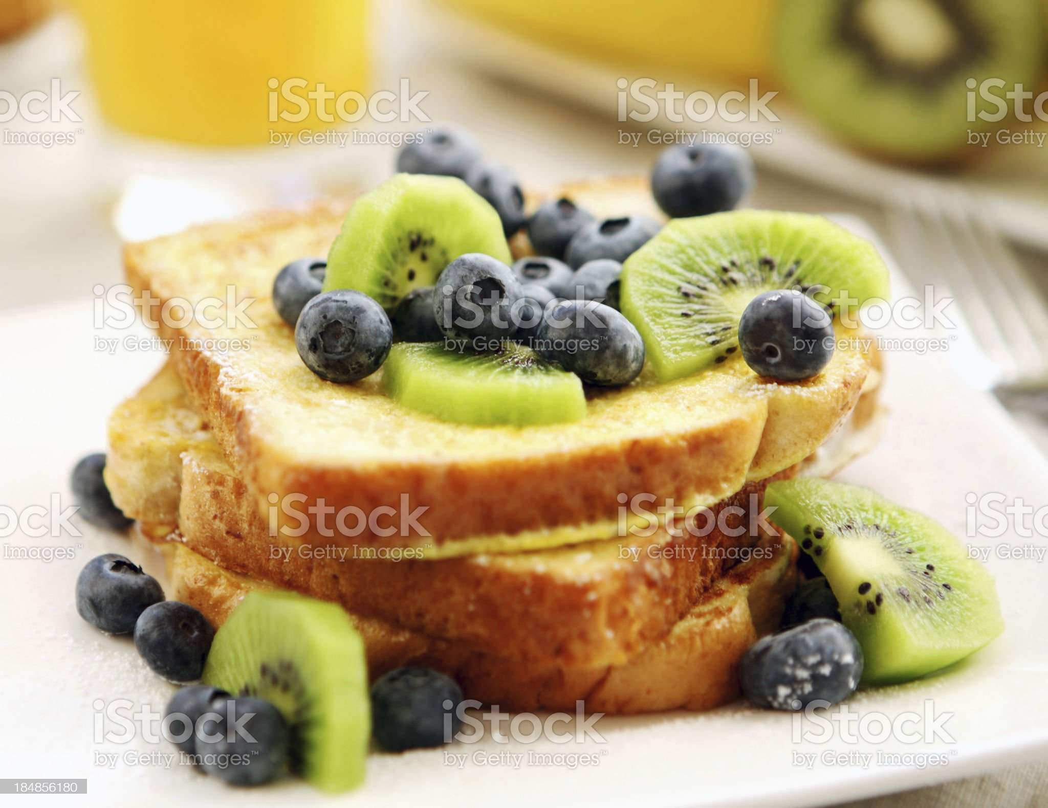 breakfast- french toast royalty-free stock photo