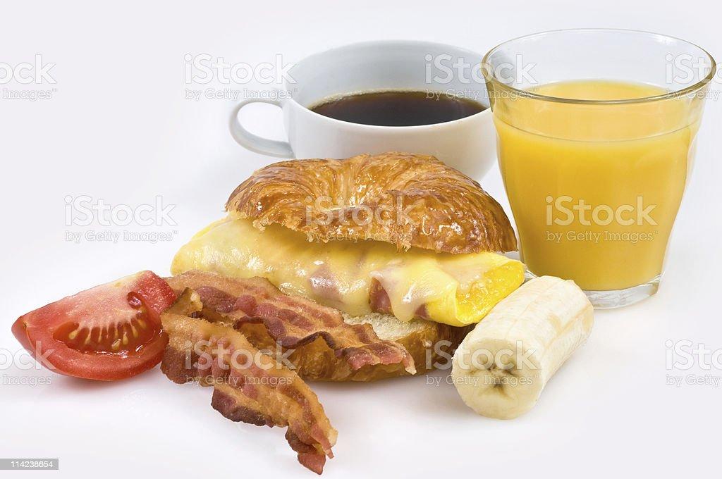Breakfast in America stock photo