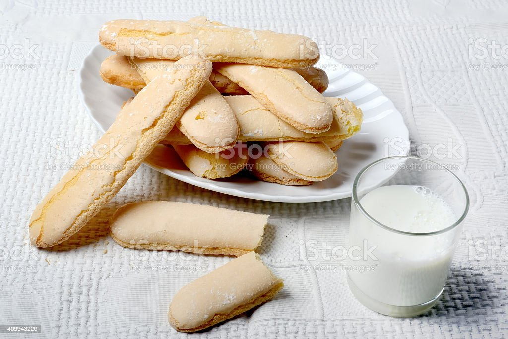 Breakfast in Sardegna stock photo
