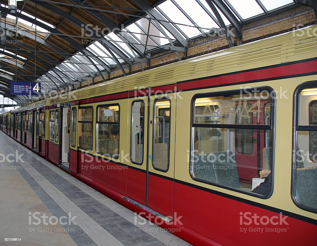Breakfast in the train royalty-free stock photo