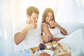Breakfast is better when you share it in bed