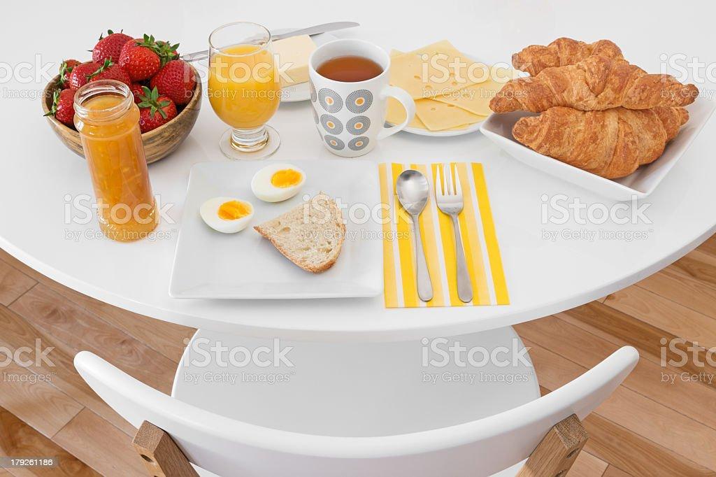 Breakfast is ready stock photo