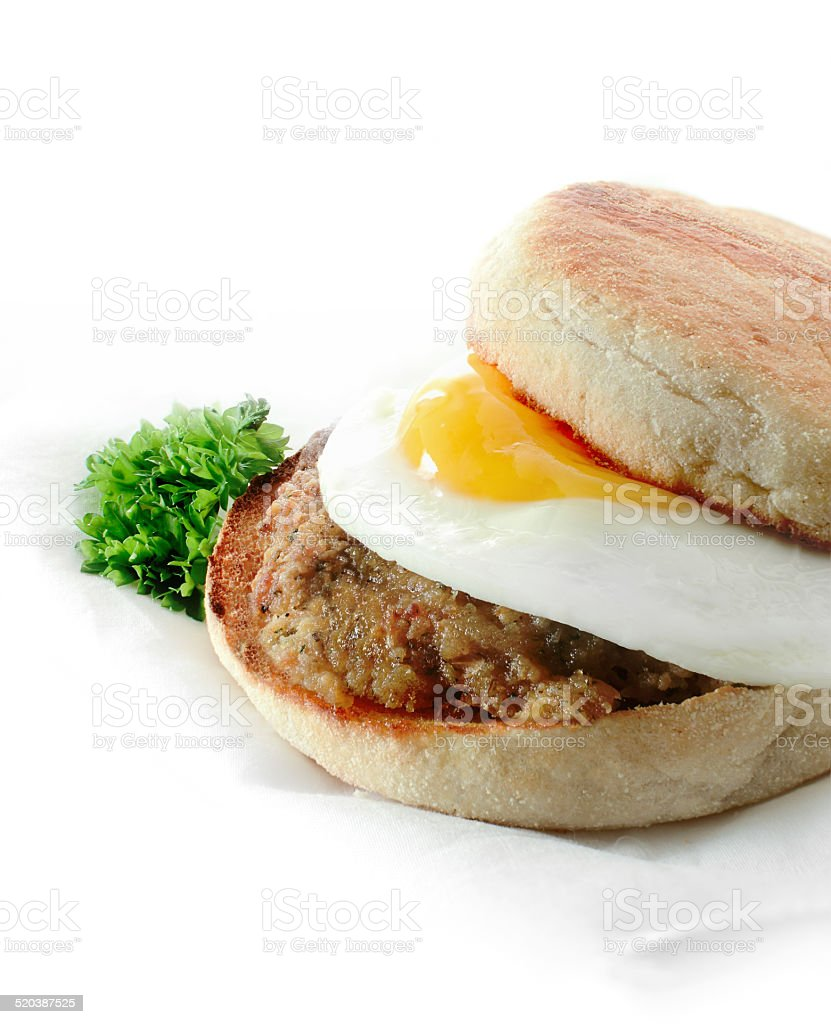 Breakfast Muffin stock photo