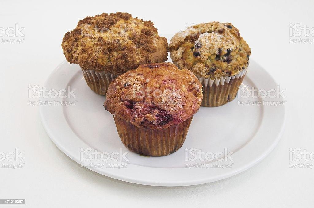 Breakfast muffins royalty-free stock photo