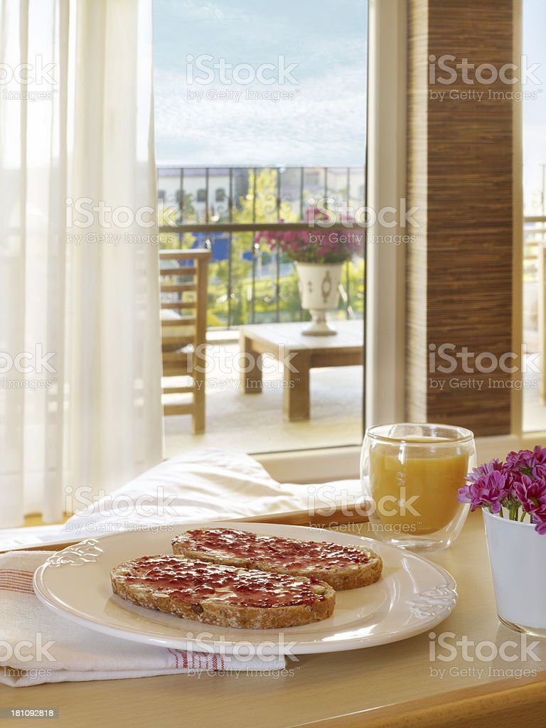 breakfast of champions royalty-free stock photo