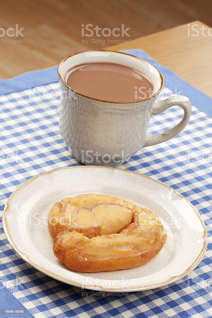 Breakfast or Coffee Break royalty-free stock photo