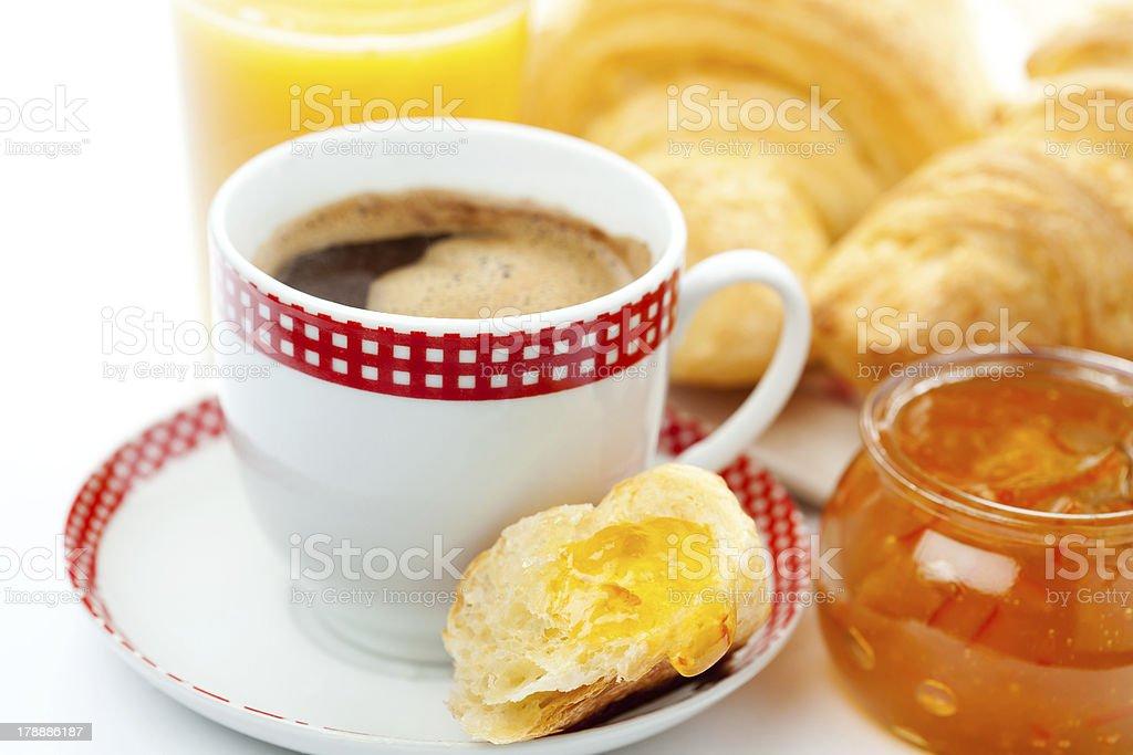 Café-da-manhã foto royalty-free