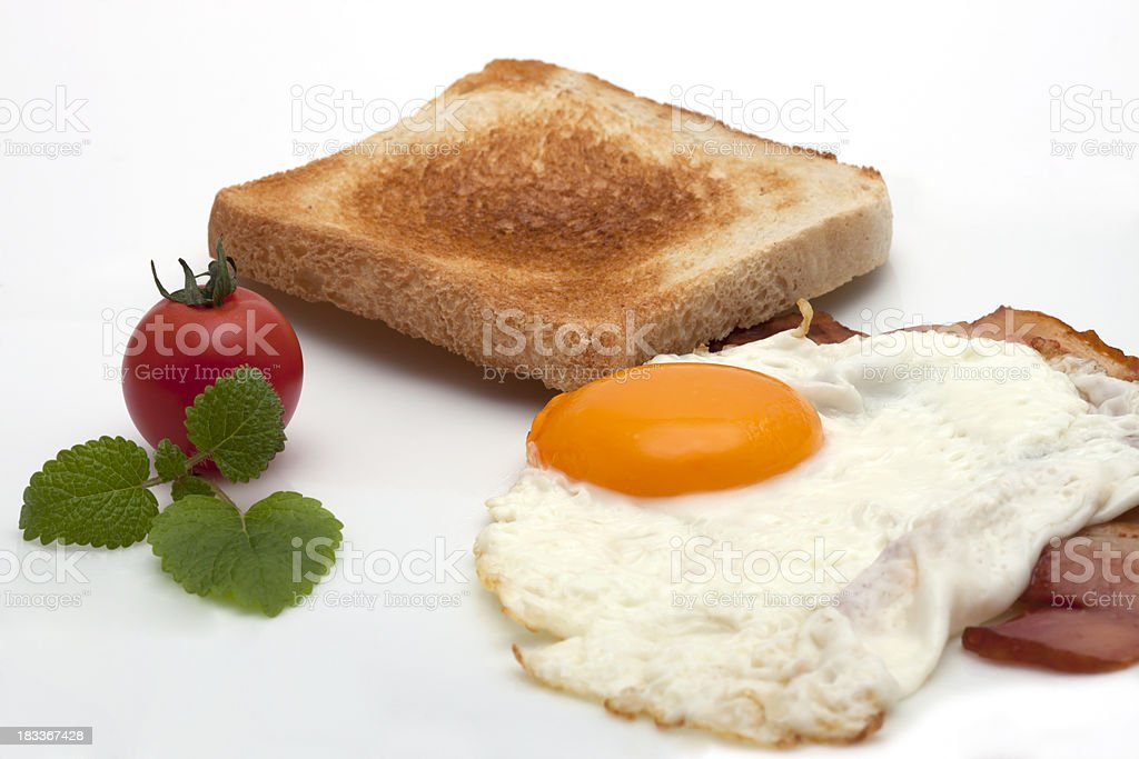 breakfast royalty-free stock photo