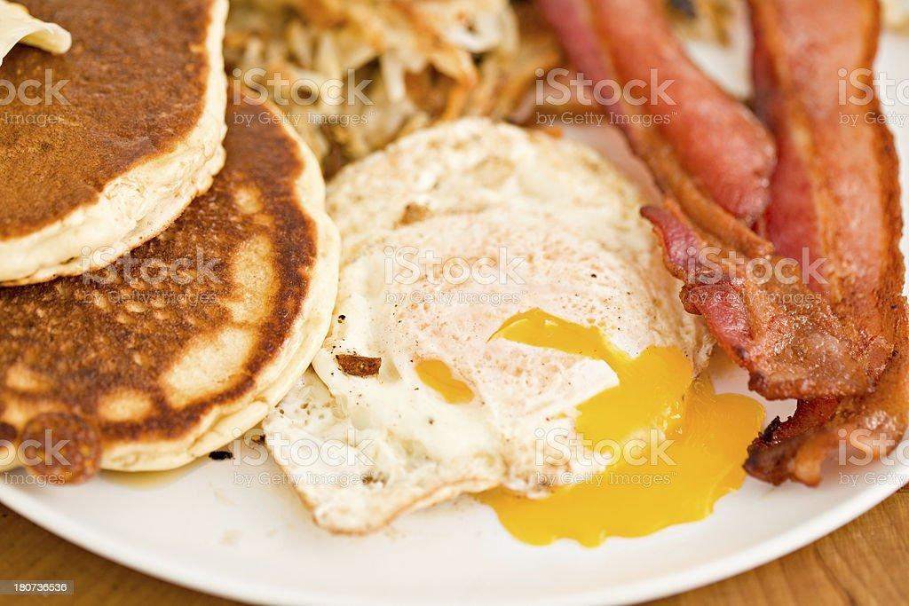 Breakfast Plate stock photo