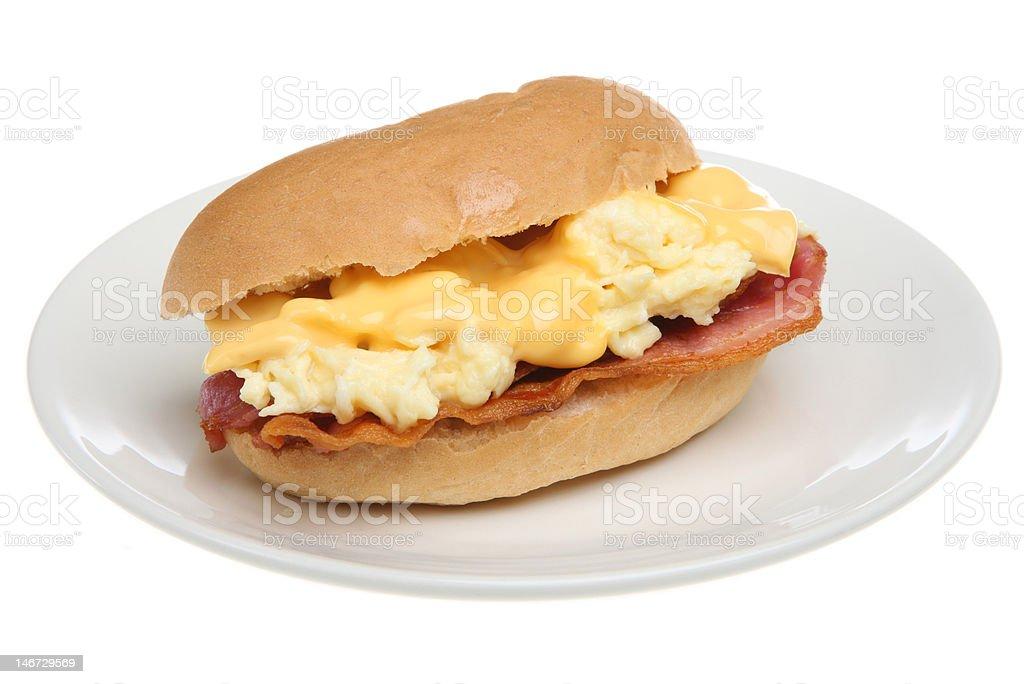 Breakfast Roll royalty-free stock photo