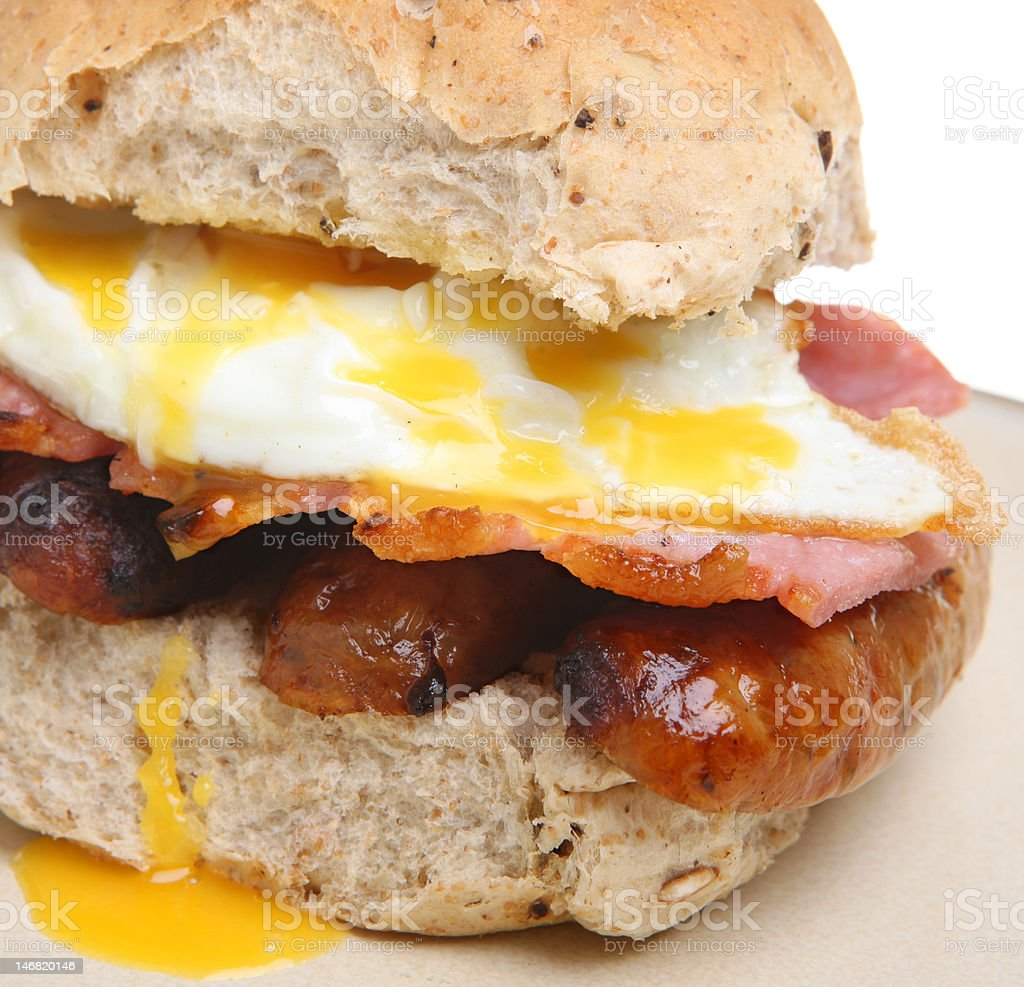 Breakfast Roll royalty-free stock photo
