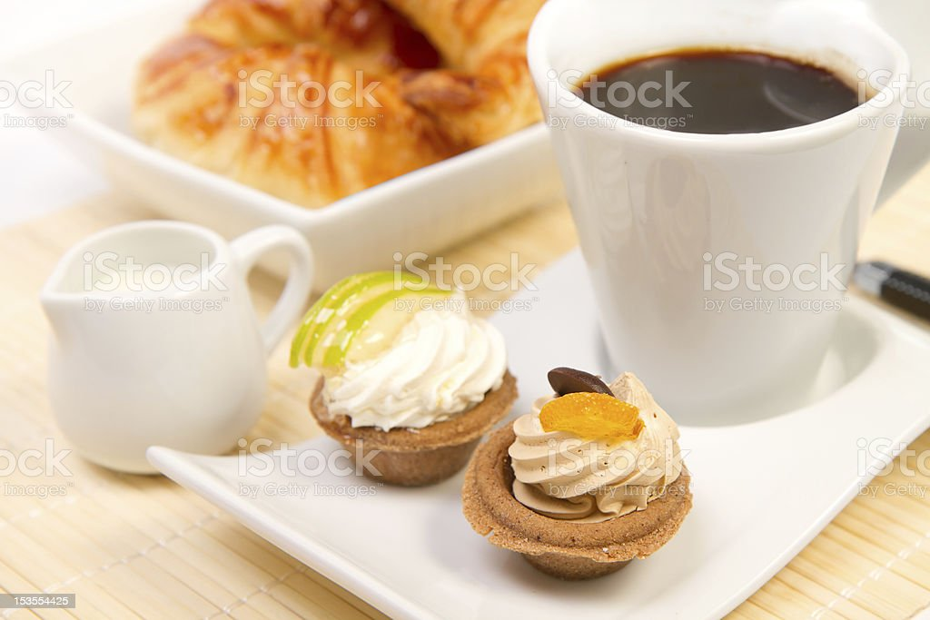Breakfast served royalty-free stock photo