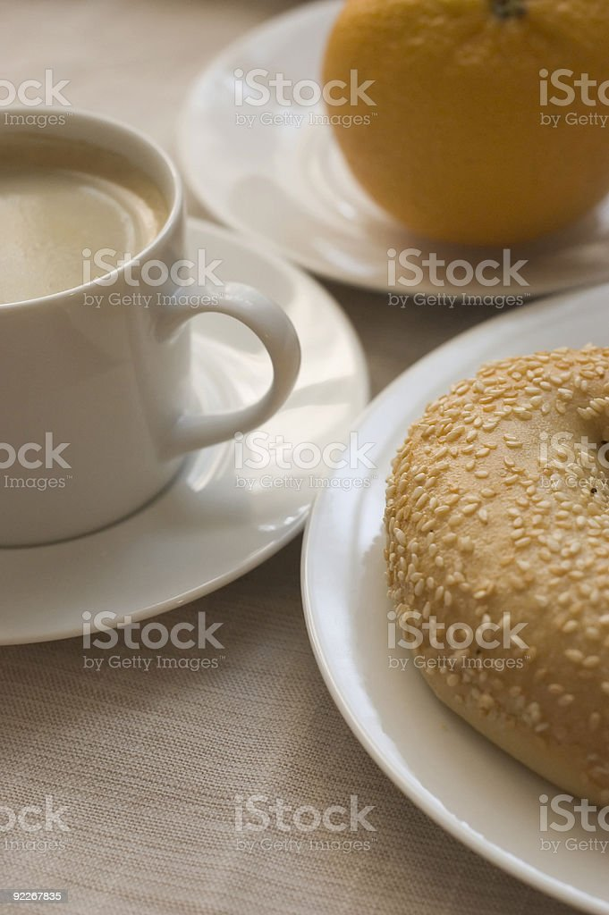 breakfast shapes stock photo