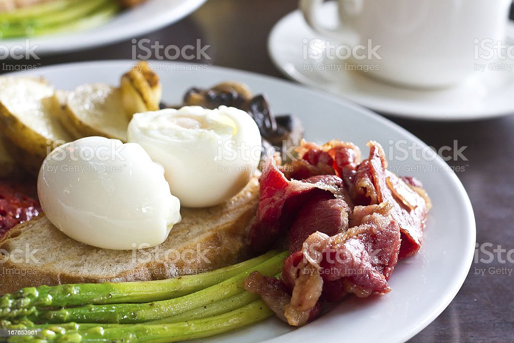 Breakfast Spanish and sumptuous stock photo