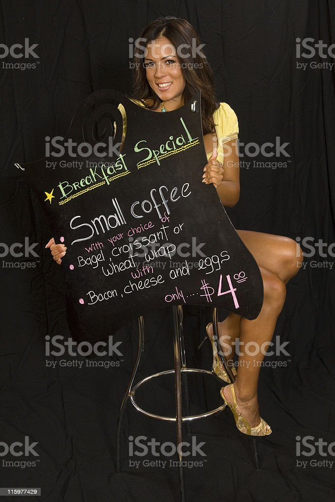 Breakfast special royalty-free stock photo