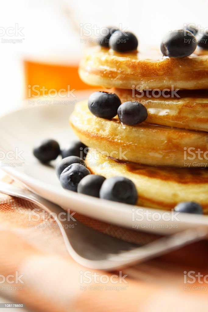 Breakfast Stills: Pancakes royalty-free stock photo
