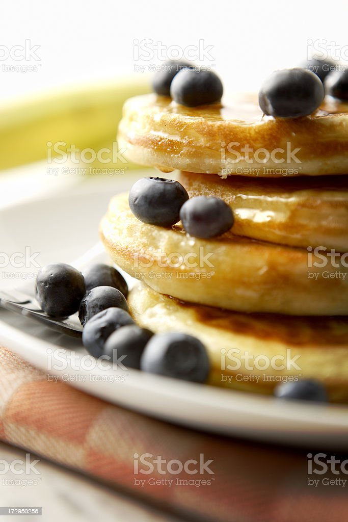 Breakfast Stills: Pancakes royalty-free stock photo