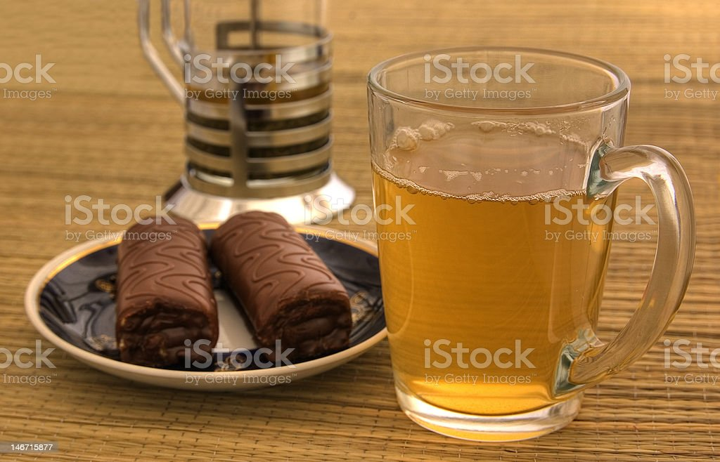 Breakfast time royalty-free stock photo