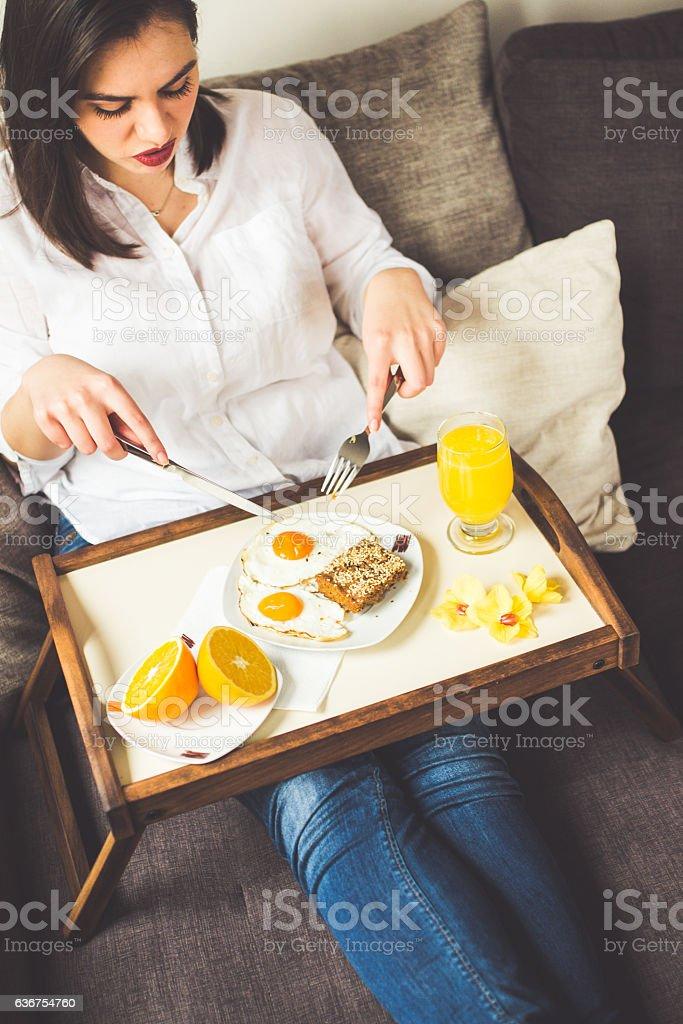 Breakfast time stock photo