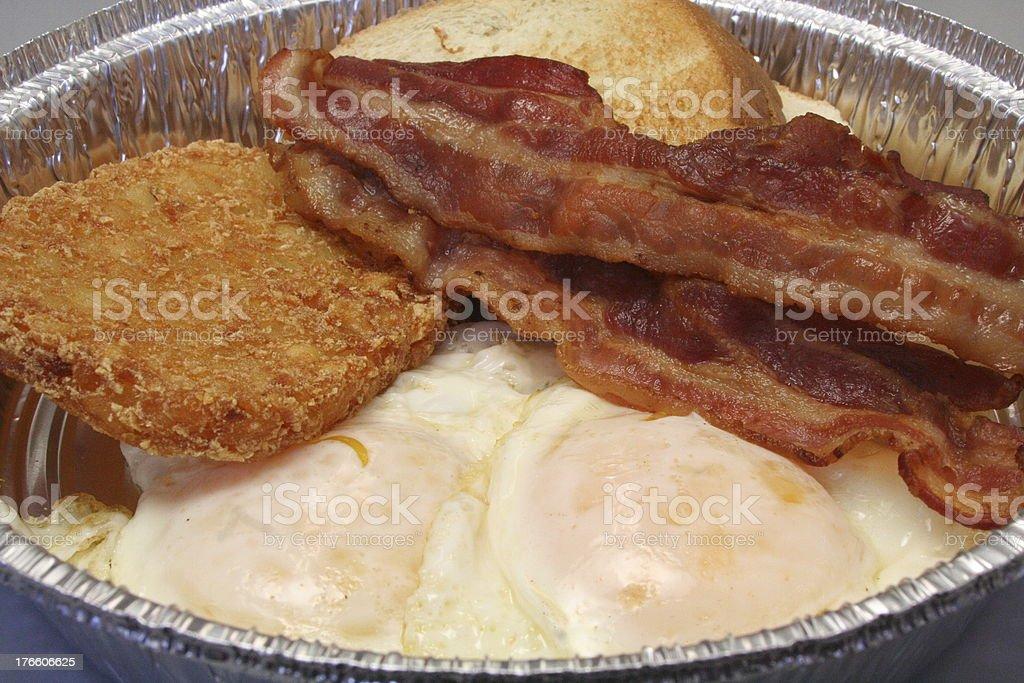 Breakfast To Go royalty-free stock photo
