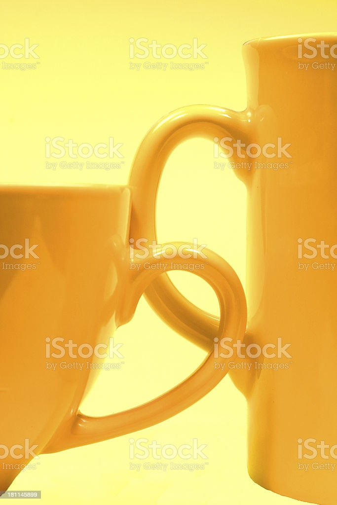 breakfast together royalty-free stock photo