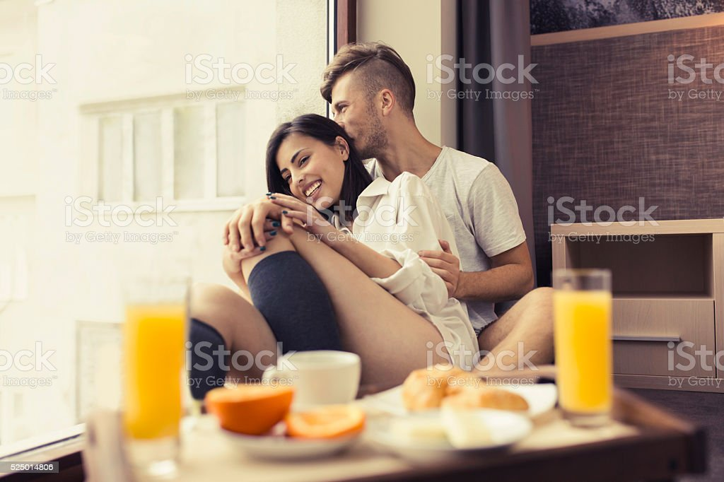 Breakfast With My Love stock photo