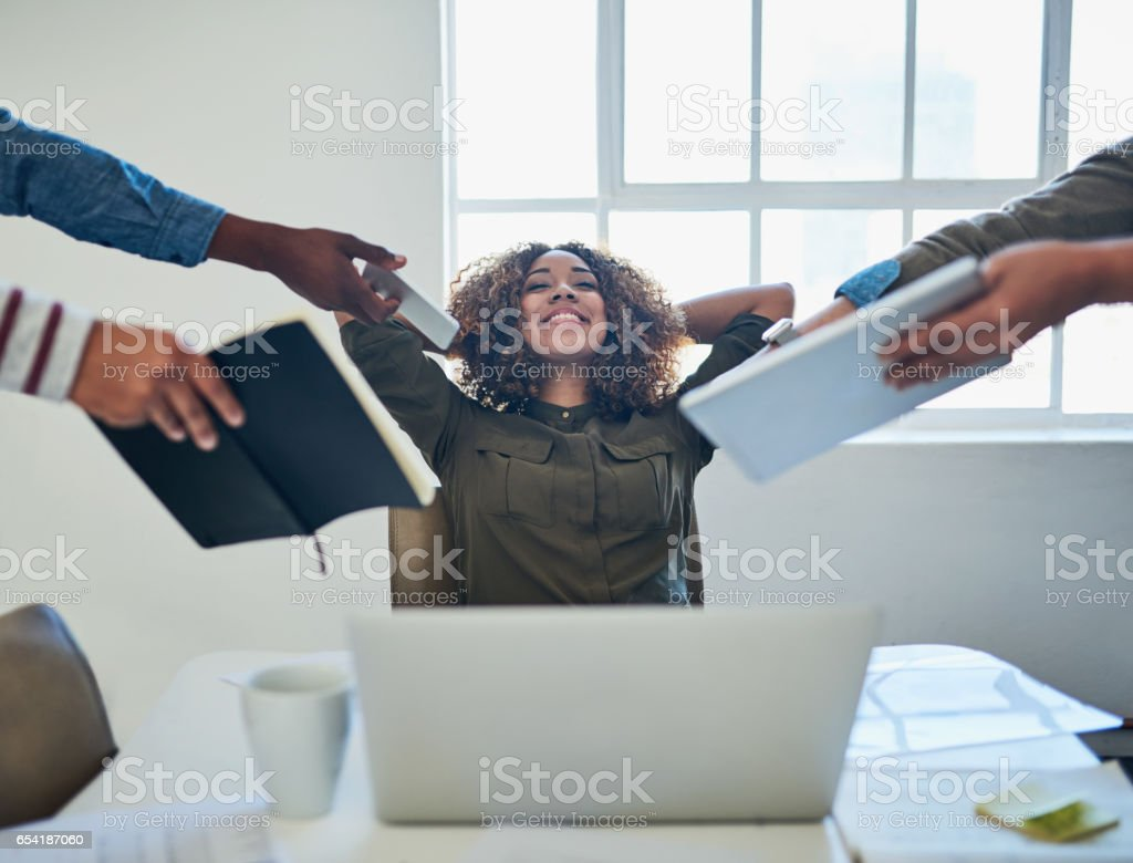 Breaking away from busyness stock photo